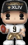 NFL Football - Drew Brees New Orleans Saints Super Bowl Champions XLIV Pop! Vinyl Figure