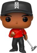 Tiger Woods - Tiger Woods with Red Shirt Pop! Vinyl Figure