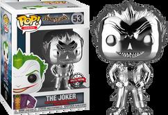 Batman - The Joker Silver Chrome US Exclusive Pop! Vinyl Figure
