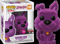 Scooby-Doo - Scooby-Doo Purple US Exclusive Flocked Pop! Vinyl Figure