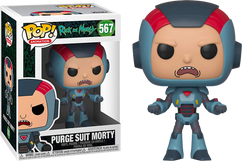 Rick and Morty - Morty in Purge Suit Pop! Vinyl Figure