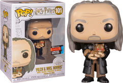 Harry Potter - Argus Filch with Mrs. Norris Yule Ball NYCC19 Pop! Vinyl Figure