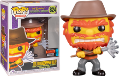 The Simpsons - Evil Groundskeeper Willie as Freddy Krueger NYCC19 Pop! Vinyl Figure