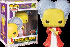 The Simpsons - Vampire Mr. Burns NYCC19 Pop! Vinyl Figure