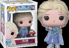 Frozen 2 - Elsa with Salamander US Exclusive Pop! Vinyl Figure