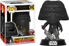 Star Wars Episode IX: The Rise Of Skywalker - Knight Of Ren with Heavy Blade Pop! Vinyl Figure