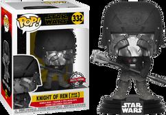 Star Wars Episode IX: The Rise Of Skywalker - Knight Of Ren with War Club Pop! Vinyl Figure