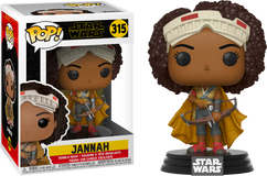 Star Wars Episode IX: The Rise Of Skywalker - Jannah Pop! Vinyl Figure