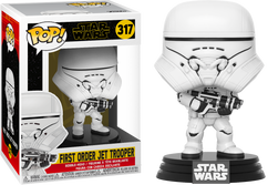 Star Wars Episode IX: The Rise Of Skywalker - First Order Jet Trooper Pop! Vinyl Figure