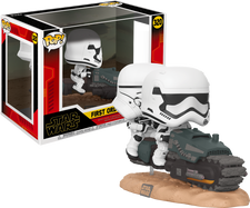 Star Wars Episode IX: The Rise Of Skywalker - First Order Tread Speeder Deluxe Pop! Vinyl Figure
