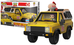 Toy Story -Pizza Planet Truck with Buzz Lightyear NYCC18 Pop! Rides Vinyl Figure