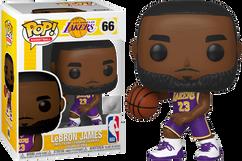 NBA Basketball - Lebron James L.A. Lakers Pop! Vinyl Figure