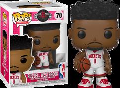 NBA Basketball - Russell Westbrook Houston Rockets Pop! Vinyl Figure