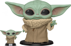 "Star Wars: The Mandalorian – The Child (Baby Yoda) Life-Size 10"" Pop! Vinyl Figure"