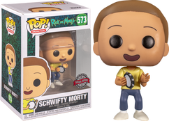 Rick and Morty - Get Schwifty Morty Pop! Vinyl Figure