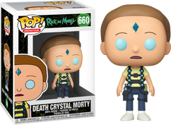 Rick and Morty -FUN40255-FUNKO Get Schwifty Morty US Exclusive Pop RS Vinyl