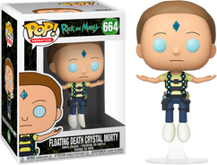 Rick and Morty - Floating Death Crystal Morty Pop! Vinyl Figure