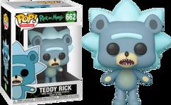 Rick and Morty - Teddy Rick Pop! Vinyl Figure