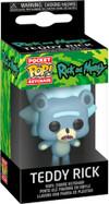 Rick and Morty - Teddy Rick Pocket Pop! Vinyl Keychain