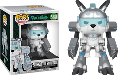 """Rick and Morty - Snowball in Exoskeleton Suit Super Sized 6"""" Pop! Vinyl Figure"""
