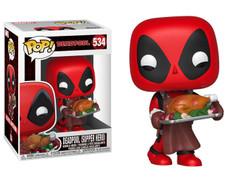 Deadpool - Deadpool with Turkey Christmas Holiday Pop! Vinyl Figure
