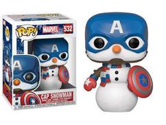 The Avengers - Captain America as Snowman Christmas Holiday Pop! Vinyl Figure