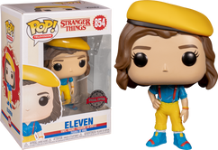 Stranger Things 3 - Eleven in Yellow Outfit Pop! Vinyl Figure