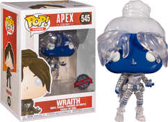Apex Legends - Wraith Translucent US Exclusive Pop! Vinyl Figure