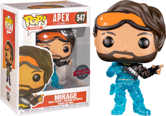 Apex Legends - Mirage Translucent US Exclusive Pop! Vinyl Figure