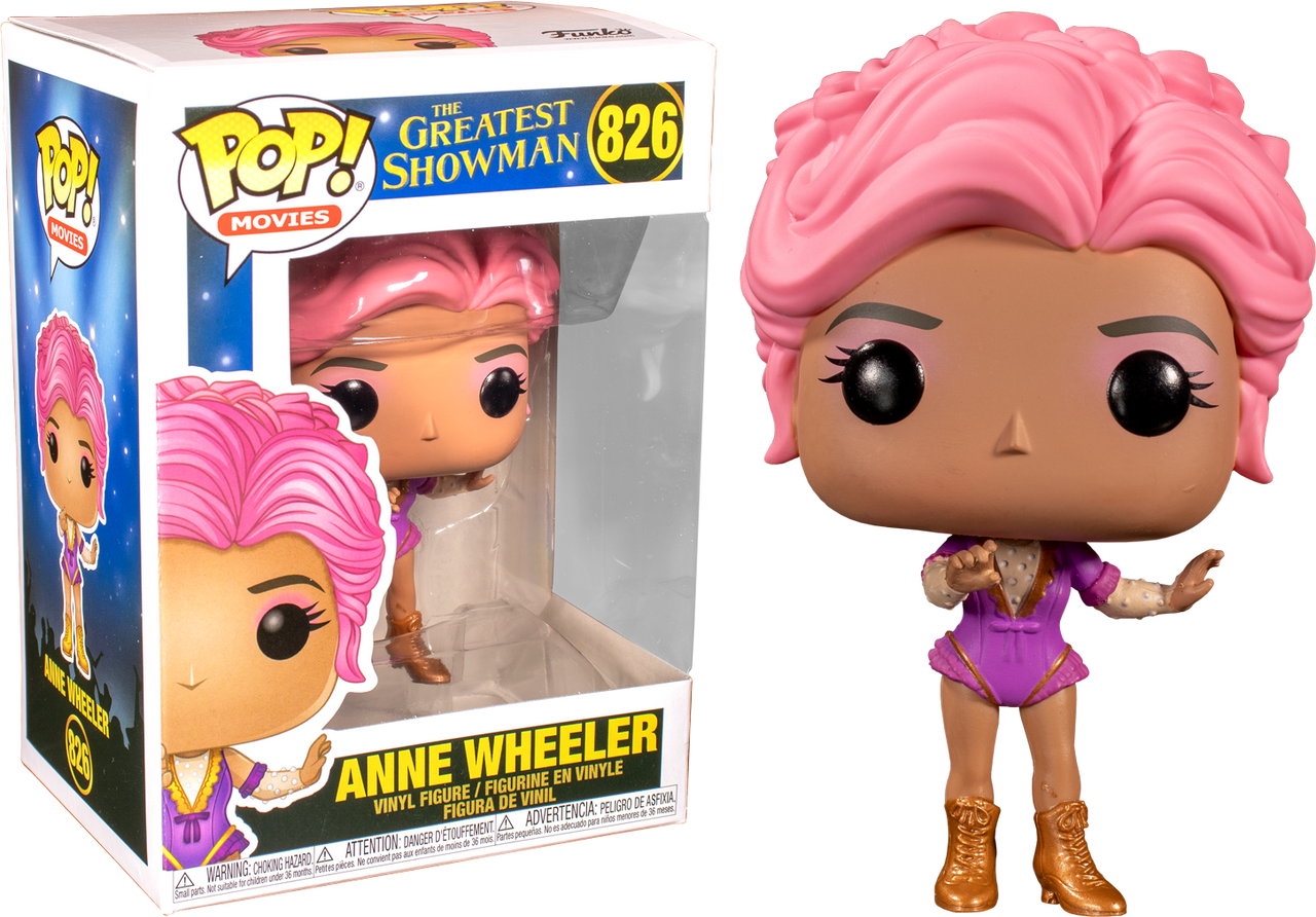 The Greatest Showman Pop Movies Vinyl Figure Anne Wheeler *BRAND NEW*