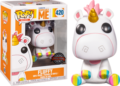 Despicable Me - Fluffy with Rainbow Hooves Pop! Vinyl Figure