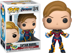 Avengers 4: Endgame - Captain Marvel with New Hair Pop! Vinyl Figure