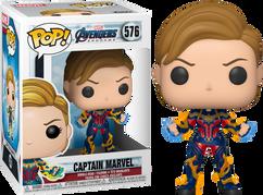 Avengers 4: Endgame - Captain Marvel with New Hair Pop! Vinyl Figure