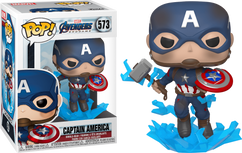 Avengers 4: Endgame - Captain America with Mjolnir Pop! Vinyl Figure