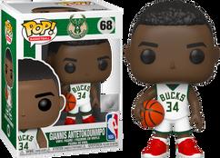 NBA Basketball - Giannis Antetokounmpo Bucks Pop! Vinyl Figure