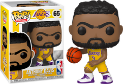 NBA Basketball - Anthony Davis L.A. Lakers Pop! Vinyl Figure