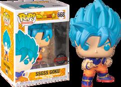 Dragon Ball Super - SSGSS Goku Pop! Vinyl Figure