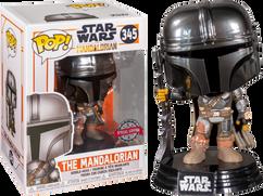 Star Wars: The Mandalorian - The Mandalorian Chrome Pop! Vinyl Figure