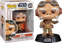 Star Wars: The Mandalorian - Kuiil Pop! Vinyl Figure