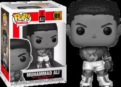 Muhammad Ali - Muhammad Ali Black & White Pop! Vinyl Figure