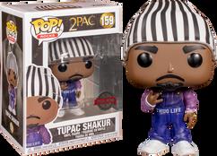 2Pac - Tupac Shakur in Thug Life Overalls Pop! Vinyl Figure