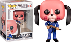 The Umbrella Academy - Cha-Cha with Mask Pop! Vinyl Figure