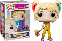 Birds of Prey (2020)- Harley Quinn Boobytrap Battle Pop! Vinyl Figure