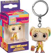 Birds of Prey (2020) - Harley Quinn Boobytrap Battle Pocket Pop! Vinyl Keychain