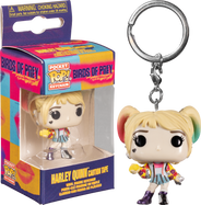 Birds of Prey (2020) - Harley Quinn with Caution Tape Pocket Pop! Vinyl Keychain