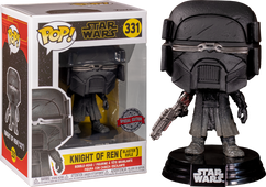 Star Wars Episode IX: The Rise Of Skywalker - Knight Of Ren with Blaster Rifle Pop! Vinyl Figure