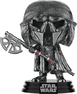 Star Wars Episode IX: The Rise Of Skywalker - Knight Of Ren with Axe Hematite Chrome Pop! Vinyl Figure