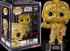 Star Wars - C-3PO Futura Pop! Vinyl Figure with Pop! Protector