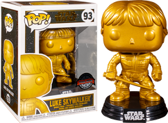 Star Wars - Luke Skywalker Metallic Gold Pop! Vinyl Figure
