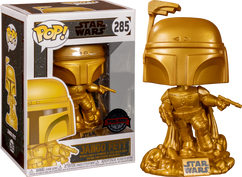Star Wars - Jango Fett Metallic Gold Pop! Vinyl Figure